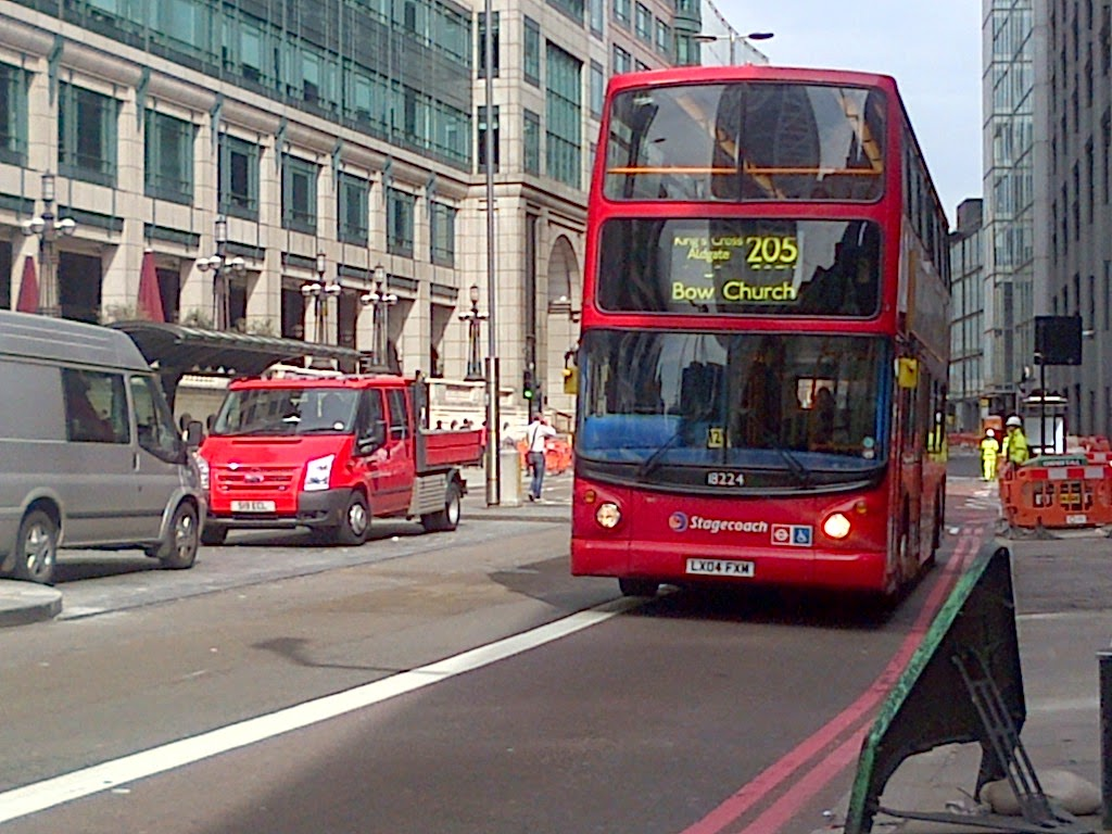 london buses on the go: from rattles to smoothness, from one good