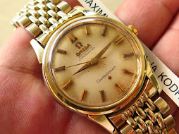 OMEGA CONSTELLATION CHRONOMETER GOLD TOP - AUTOMATIC CAL 551