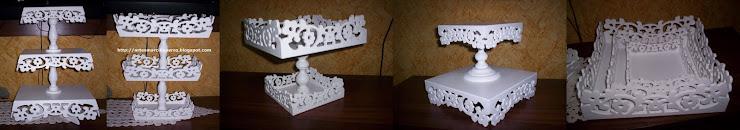 bandejas para decoração veja os preços em http://artesanatopronto.blogspot.com