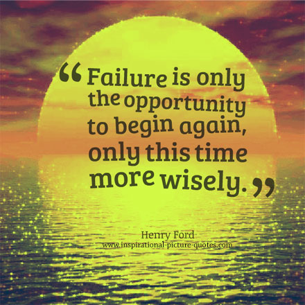 Henry Ford Failure Quote