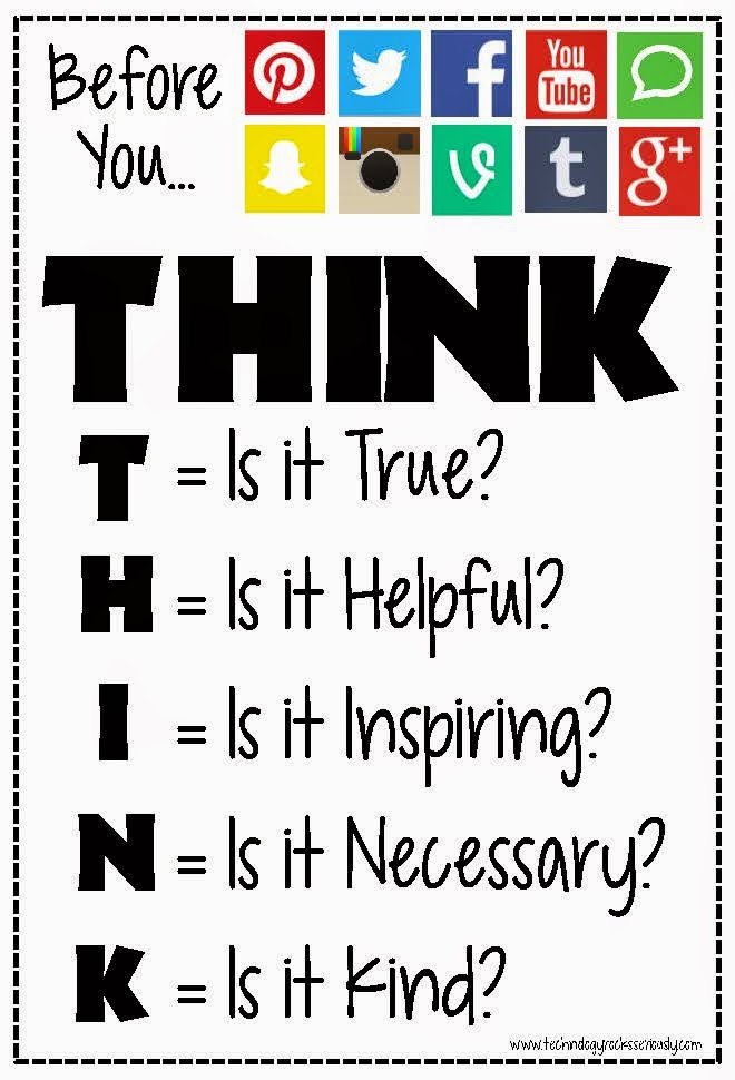 Image result for think before you post