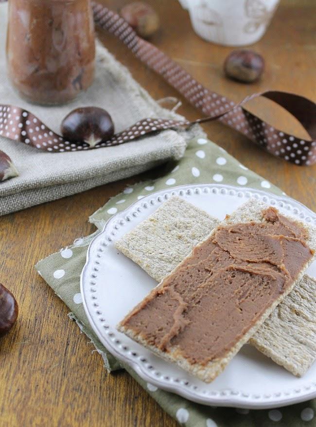Chestnut Cream Recipe Cake