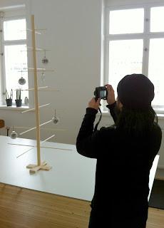 Fotosession i Stormsalen