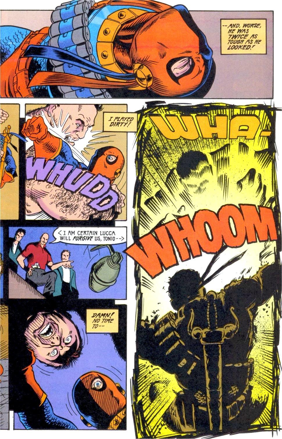 Deathstroke (1991) Annual 2 #2 - English 12