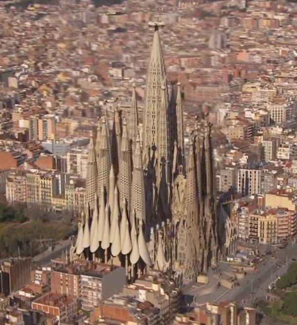 world wondering 54 wonder sagrada familia
