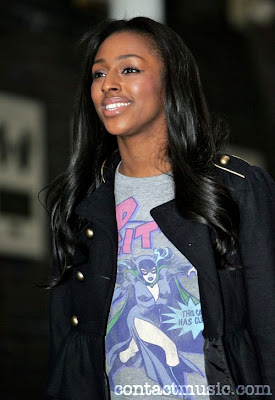 Black Long Hairstyles by Alexandra Burke