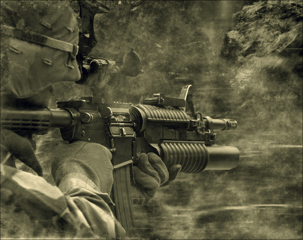 m16 gun wallpaper desktop - photo #2