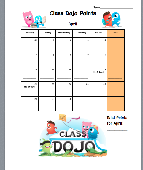 class dojo is perfect for documenting students behavior because it keeps all the information in the reports section