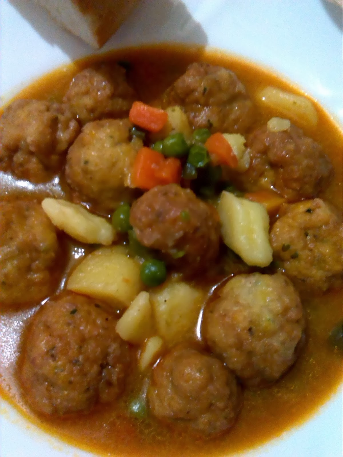 Reposteando con pepa albondigas de pollo con verduras for Albondigas de verduras