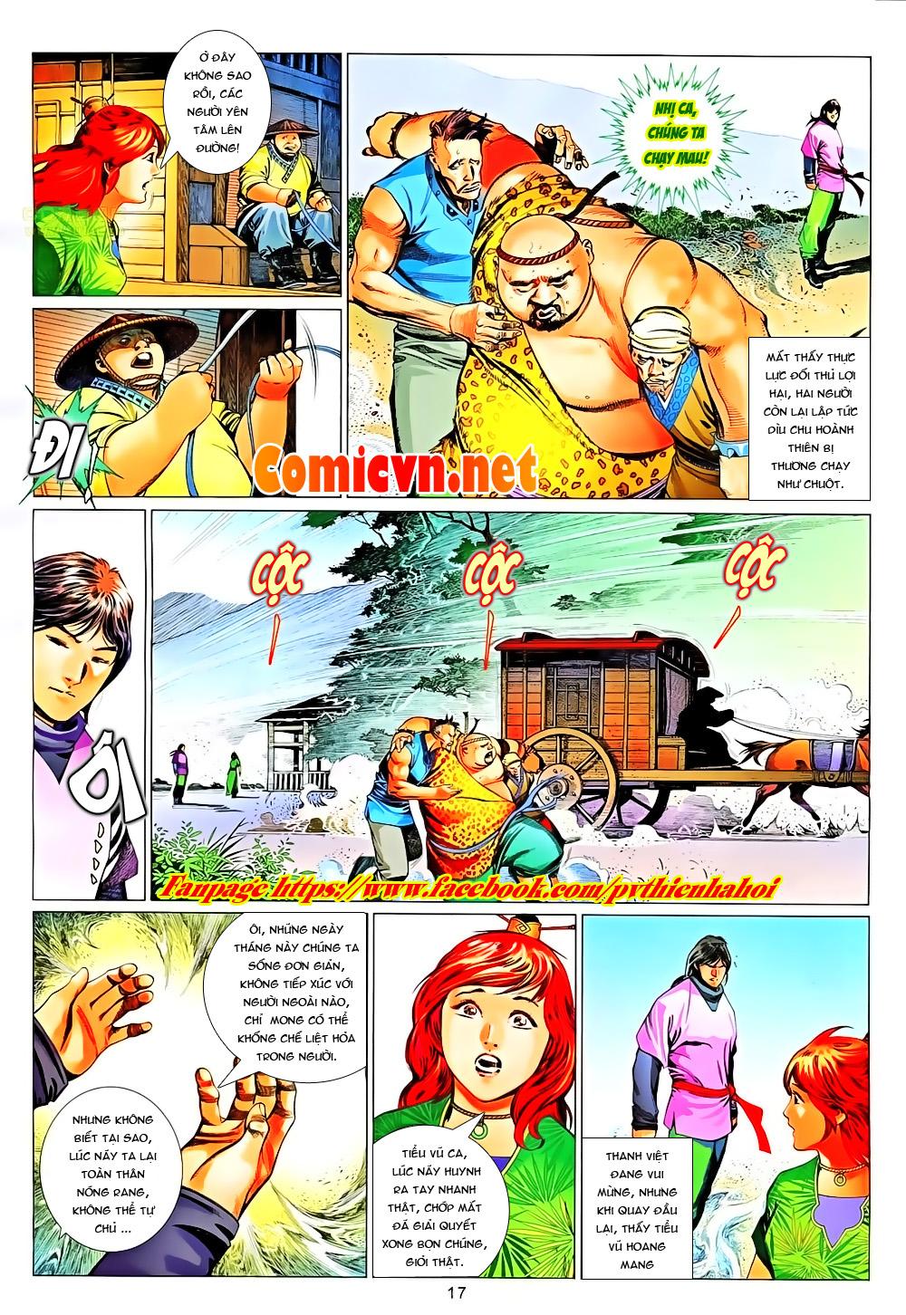 Phong Vân chap 651 Trang 17 - Mangak.info