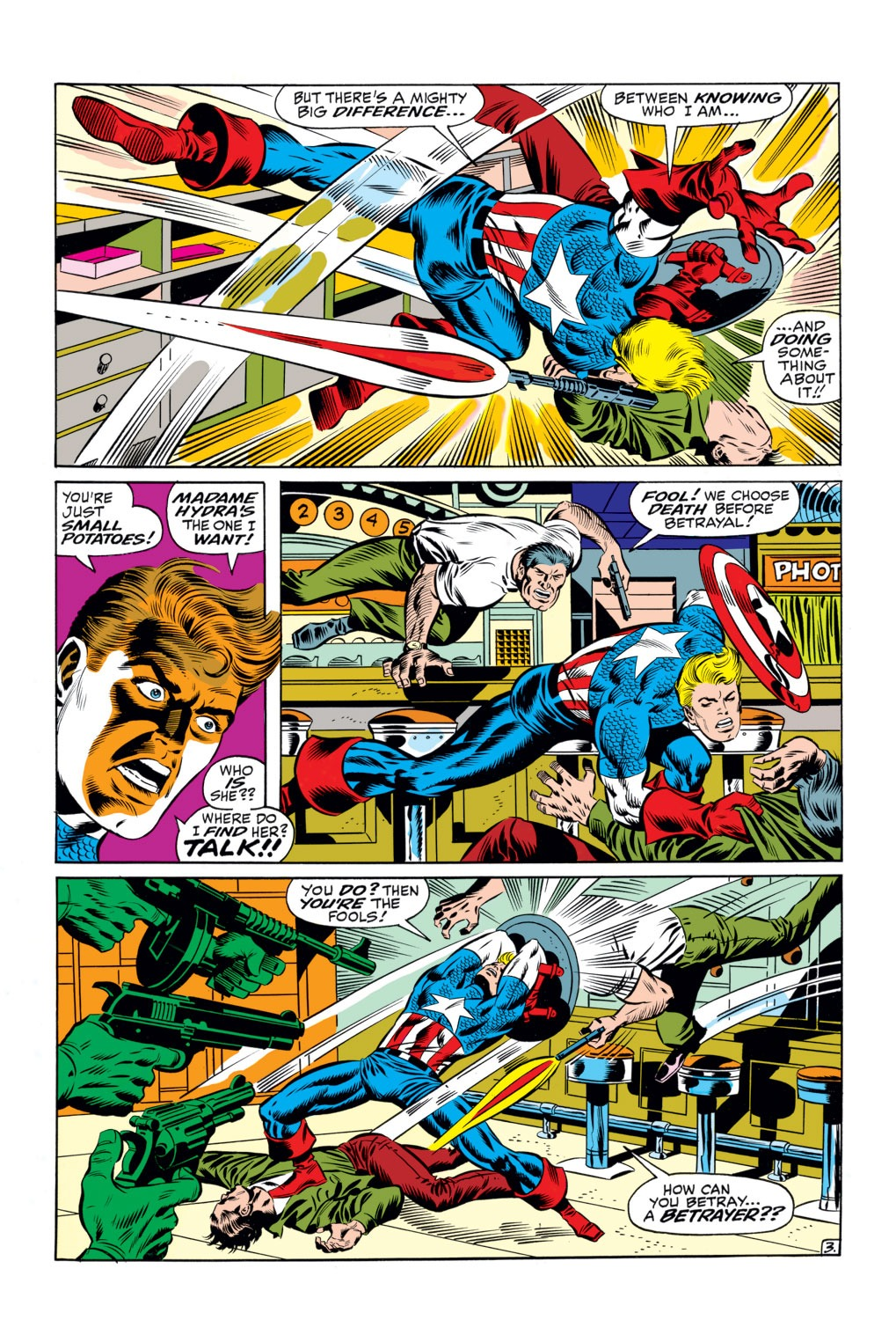 Captain America (1968) Issue #111 #25 - English 4