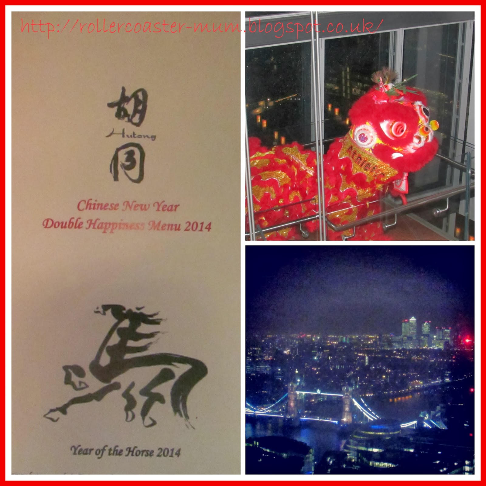 Chinese New Year at Hutong at the Shard