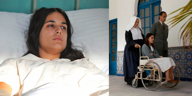Sira Quiroga camisón hospital. El tiempo entre costuras. Capítulo 2.