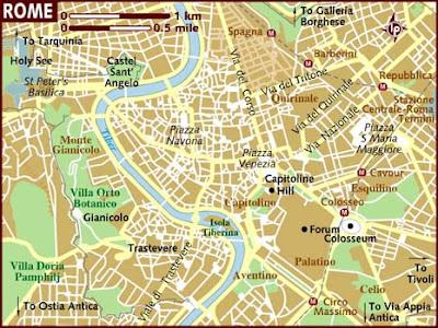Mappa Regione Rome