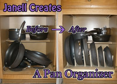 Janell Creates: A Pan Organizer