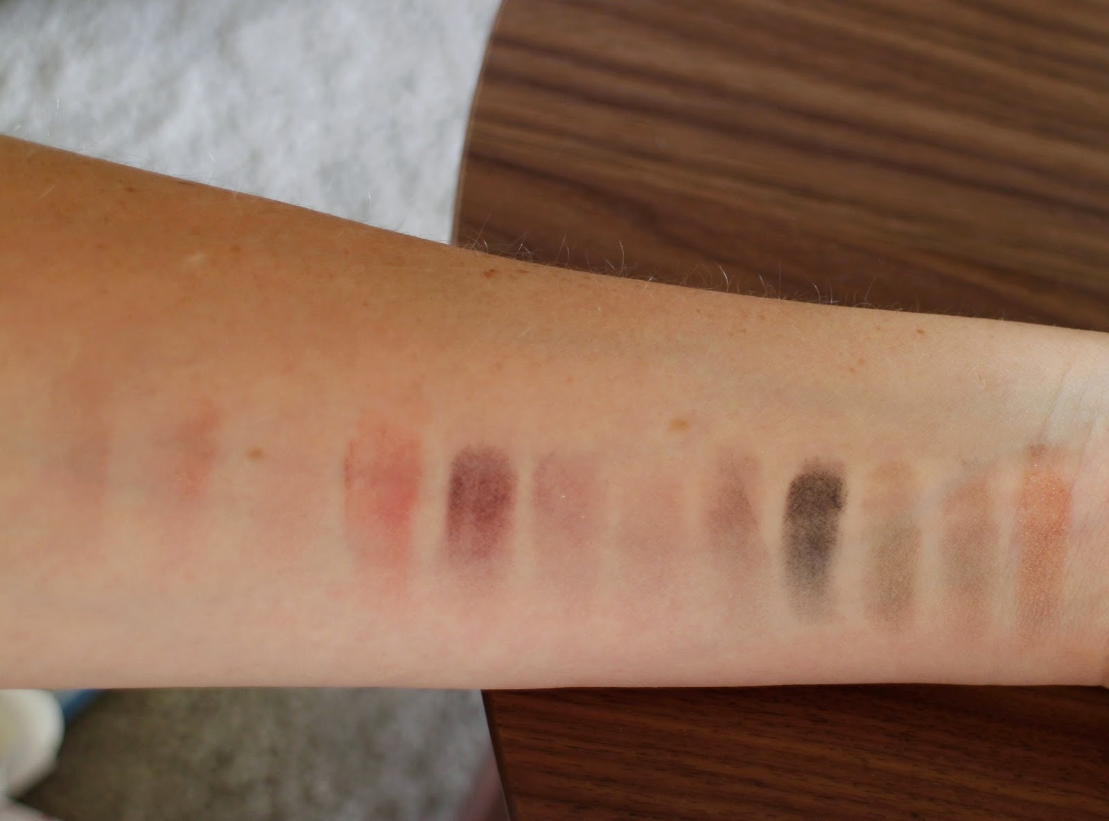 Coastal Scents Swatches