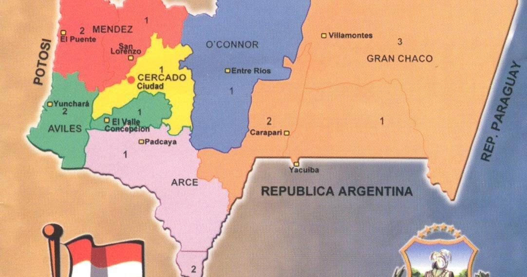 Provincias tarijeñas
