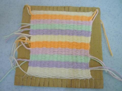 第一个weaving的作品