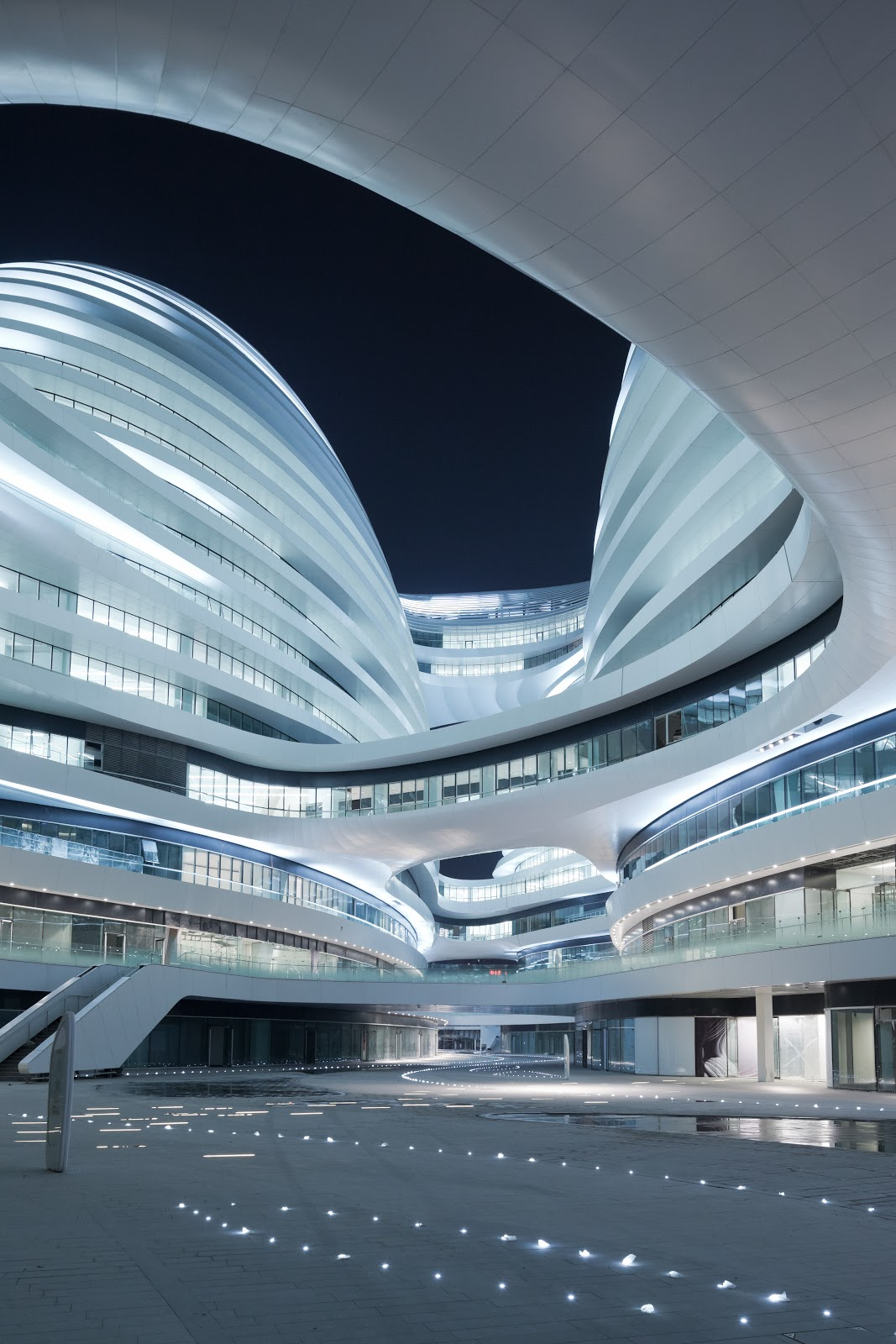 The Style Examiner Zaha Hadid S Galaxy Soho Building Is