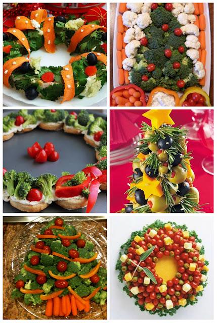 Ideias De Saladas ~ 40 Idéias de saladas decorativa de vegetais e frutas para o natal Blog Casa e Decoraç u00e3o