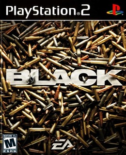 Black PS2 Box