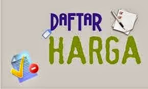 DAFTAR HARGA TANGERANG