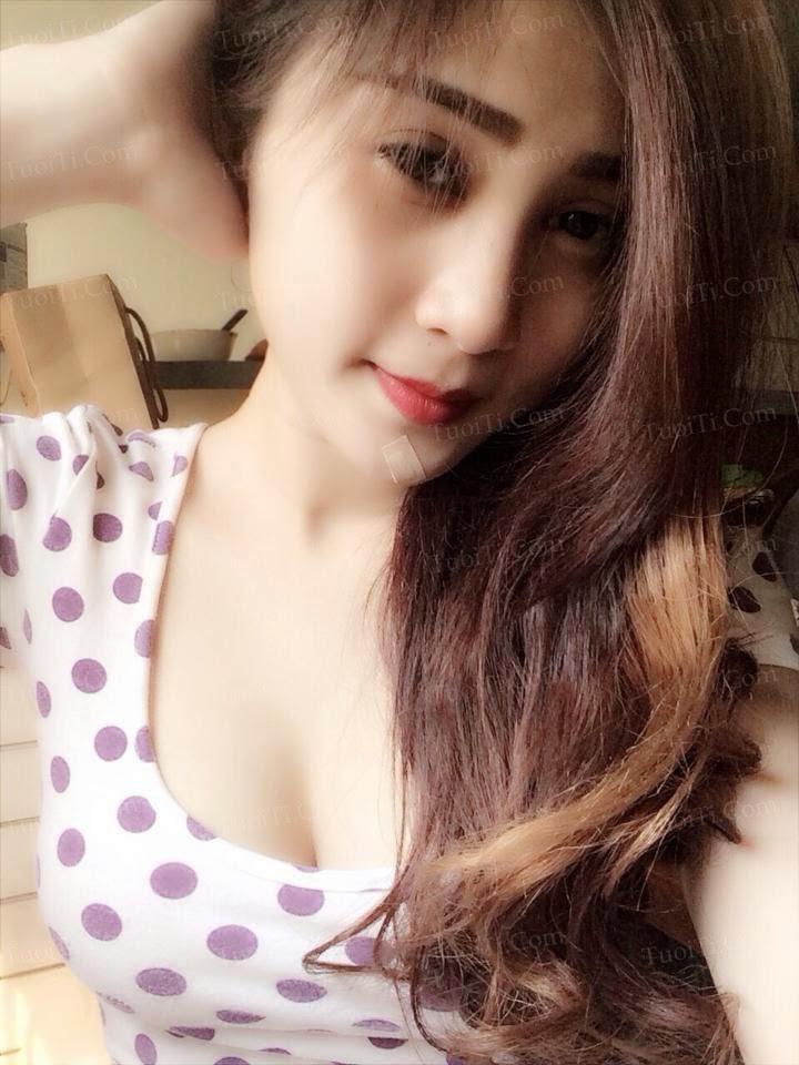 gái xinh Nguyễn Nhi da trắng sexy 6