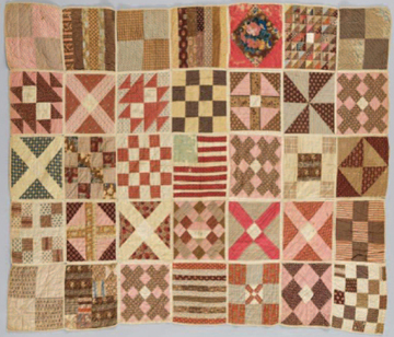 Barbara Brackman's MATERIAL CULTURE: Quilt As You Go : quilts for soldiers - Adamdwight.com