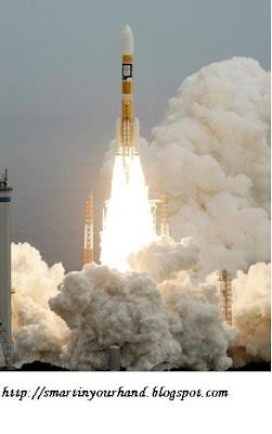 Peluncuran Roket (Contoh lain gerak vertikal ke atas)