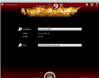 CDRWIN v9.0.11.1109