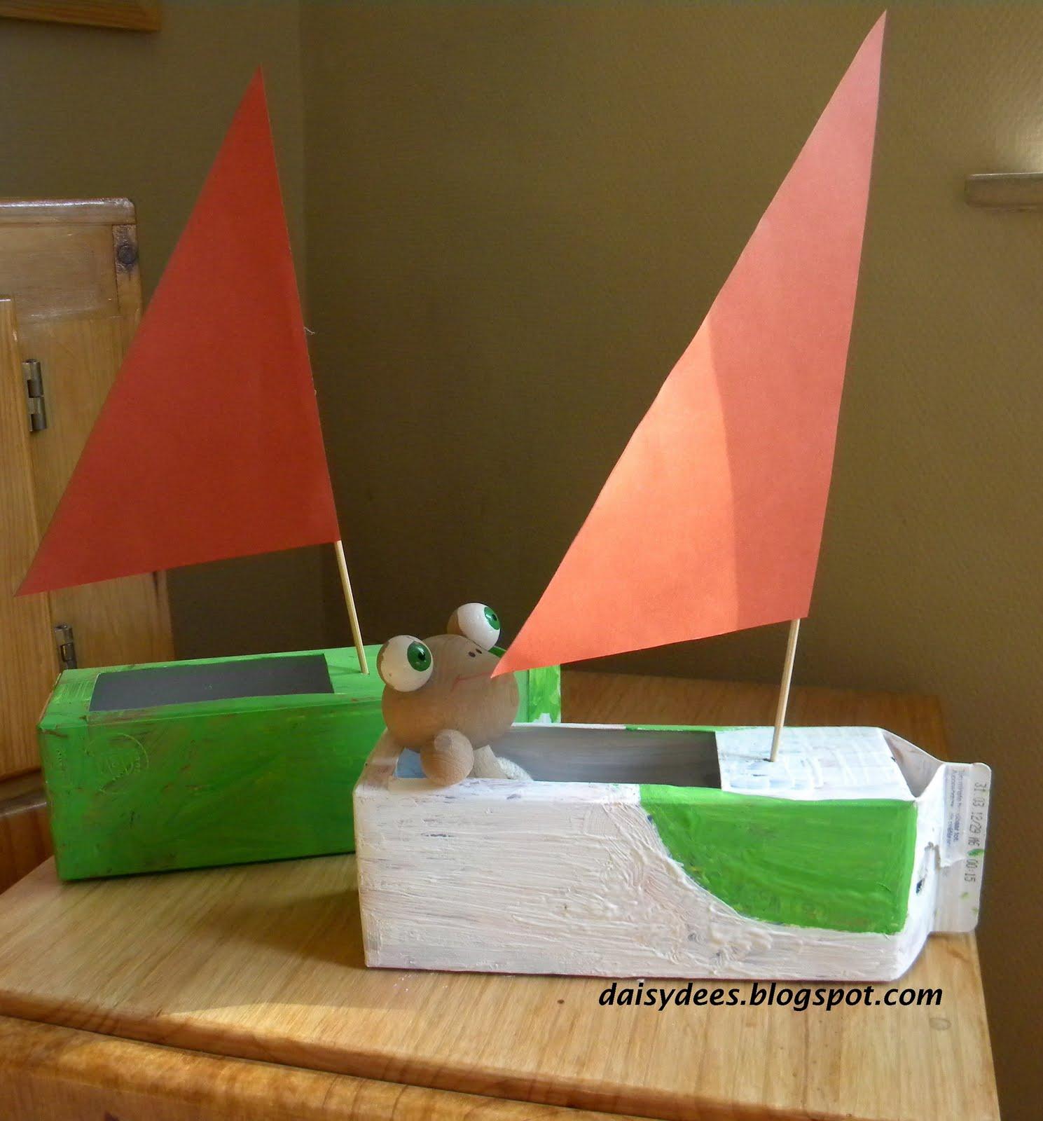 daisyd u00e9es  que faire avec des bo u00eetes de jus    u2013 des bateaux