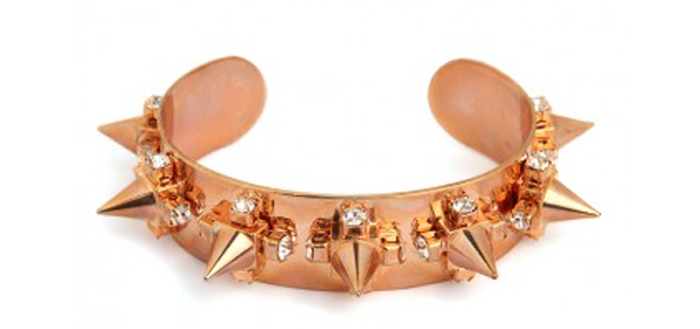 Bauble Bar glam cone cuff spikes