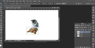 Belajar Photoshop Membuat Bayangan Lucu