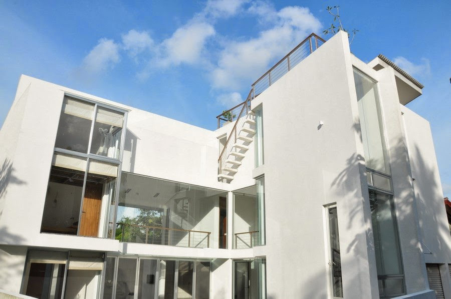Sevenby3 contemporary family home in sri lanka paying for Sri lanka modern house photos