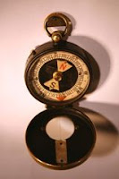 Albert Einstein Magnetic Compass