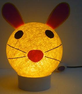 gambar character lamp,lampu tidur