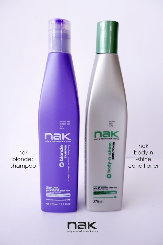 Nak Hair Products Body n Shine Shampoo Blog Review