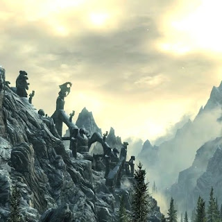 Skyrim Bleak Falls Barrow