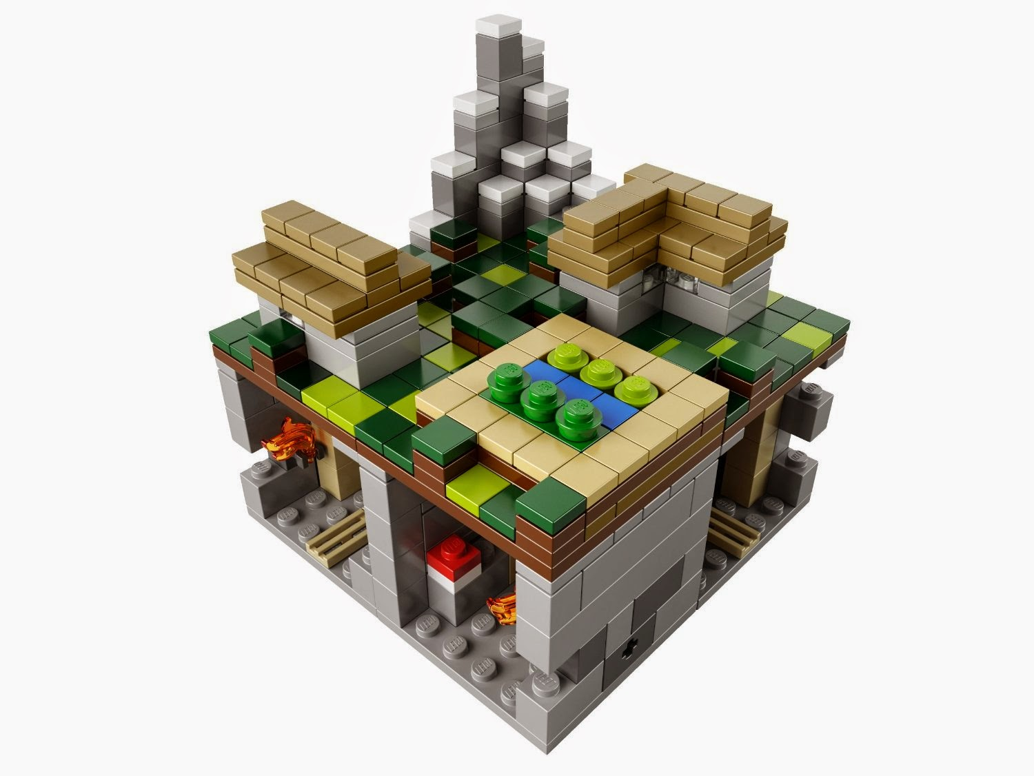 LEGO Minecraft The Village 21105