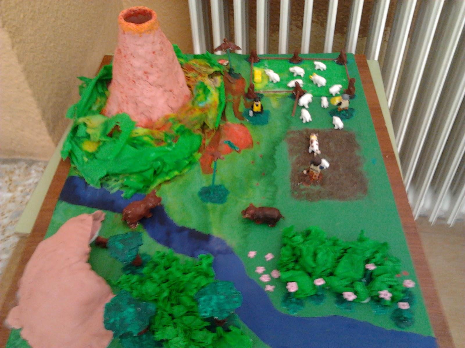 Marcos también ha representado un ecosistema marino.