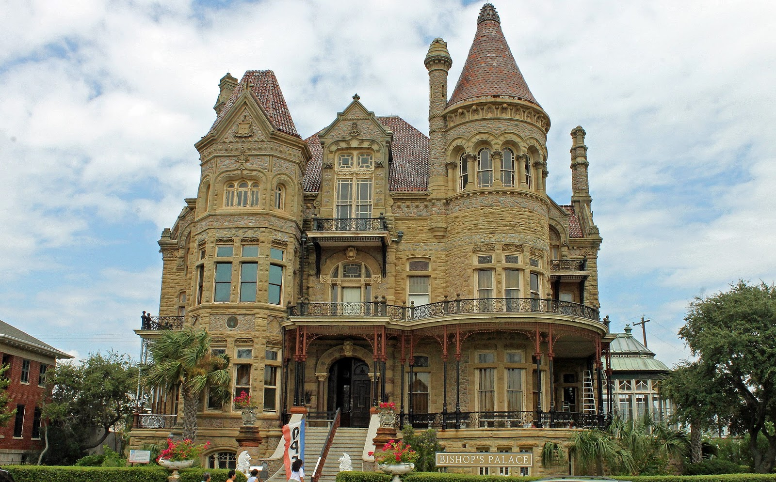 Our Journey Home: Back to vacation...Galveston Beach: Bishops Palace ...