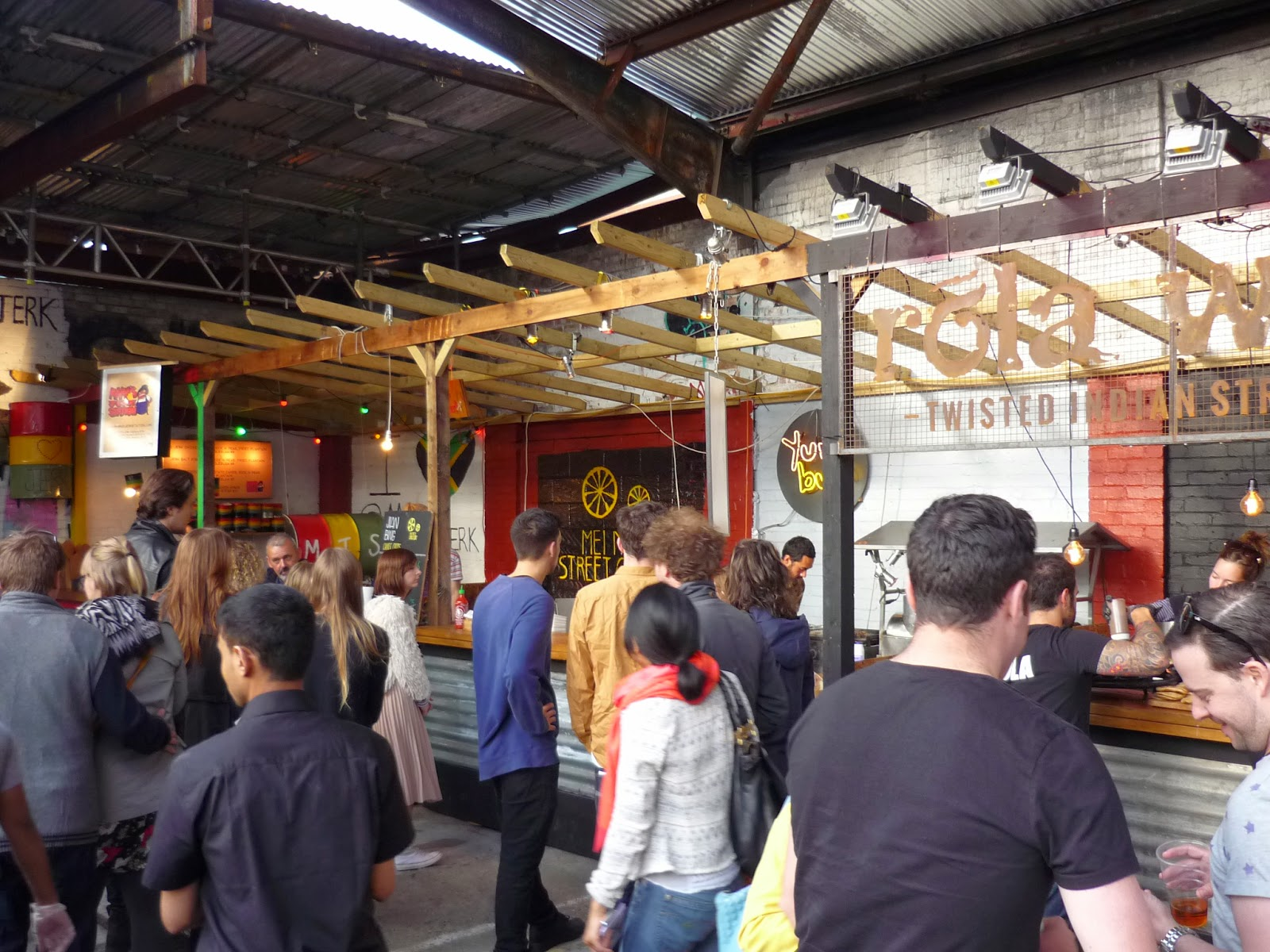 Street Feast London - Dalston Yard - Review