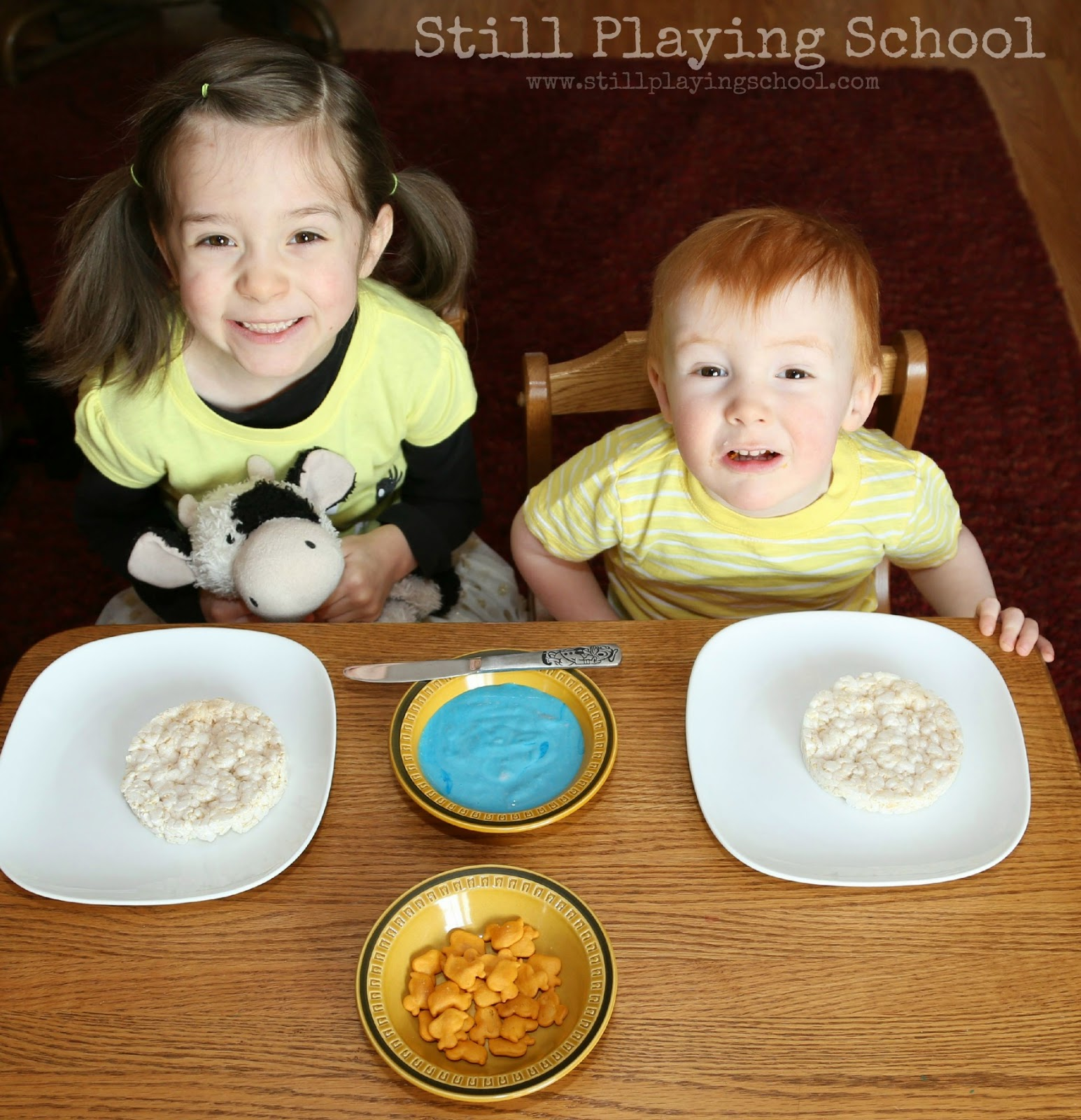 Toddler rice cake recipe