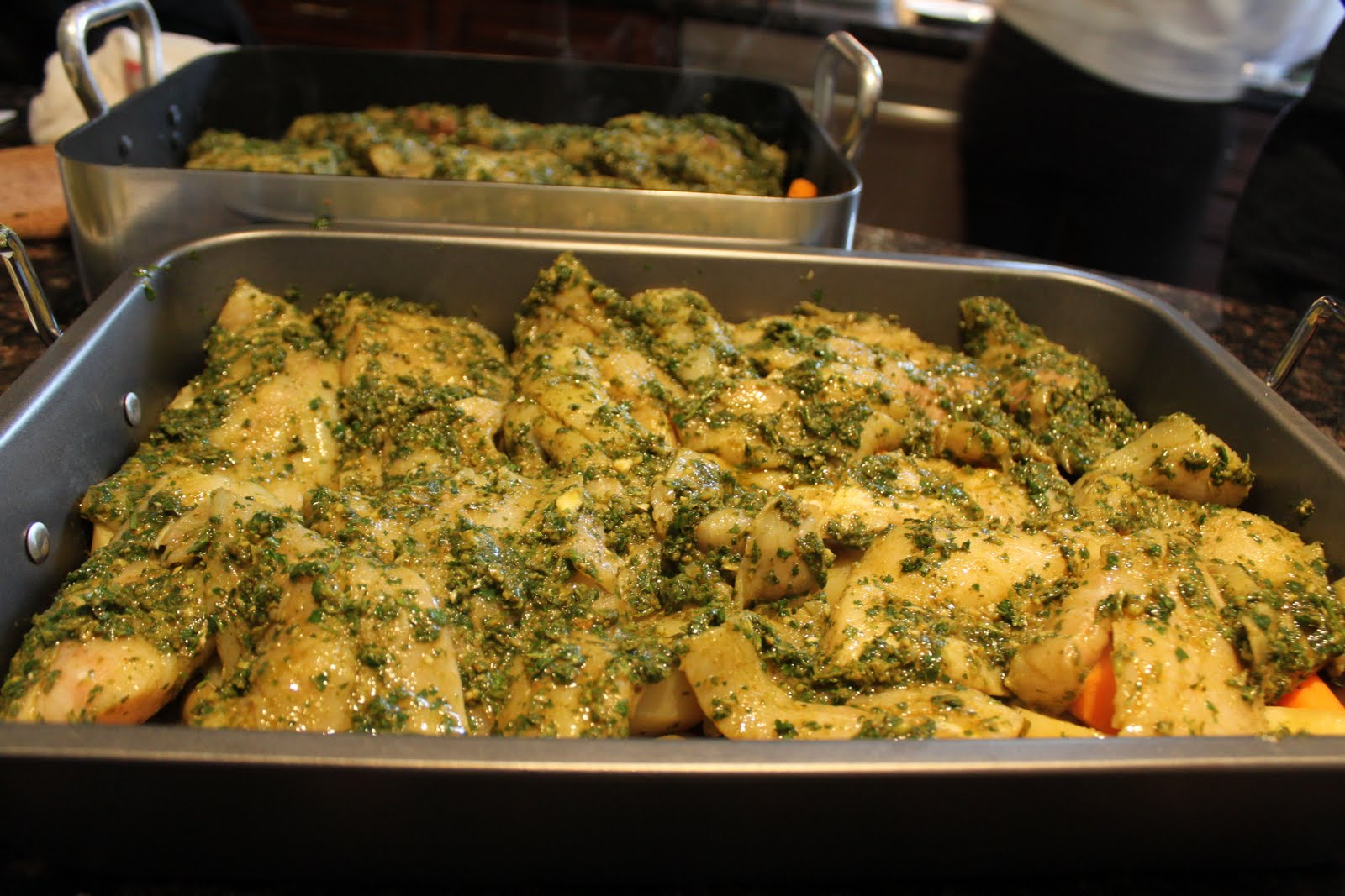 Around the world restaurant baked fish tagine with for Baked fish seasoning