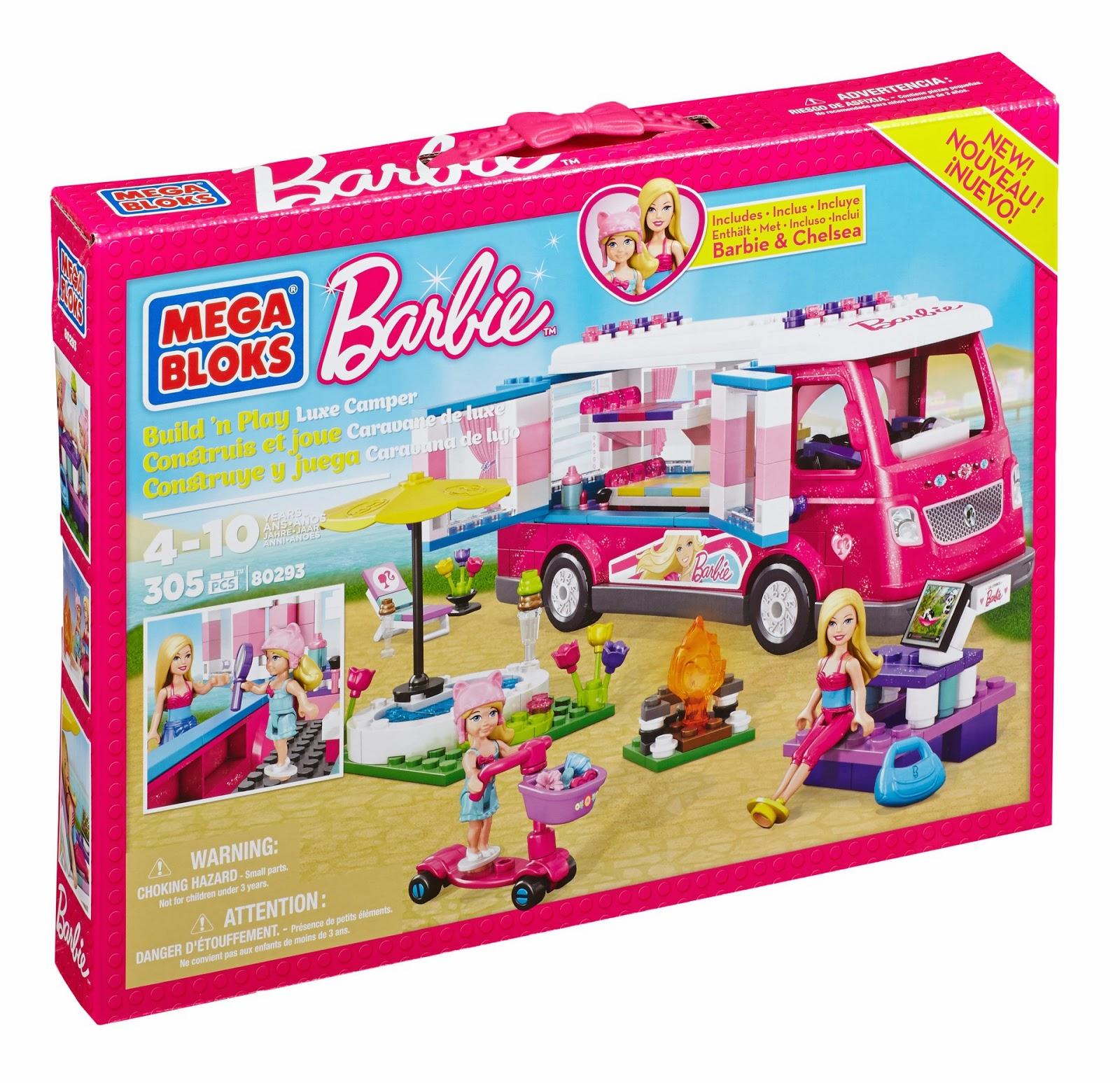 Mega Bloks Barbie giveaway