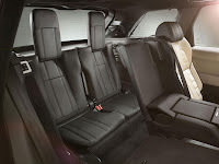 All-new Range Rover Sport SUV interior