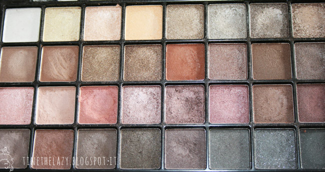 review 32 pc eyeshadow palette elf
