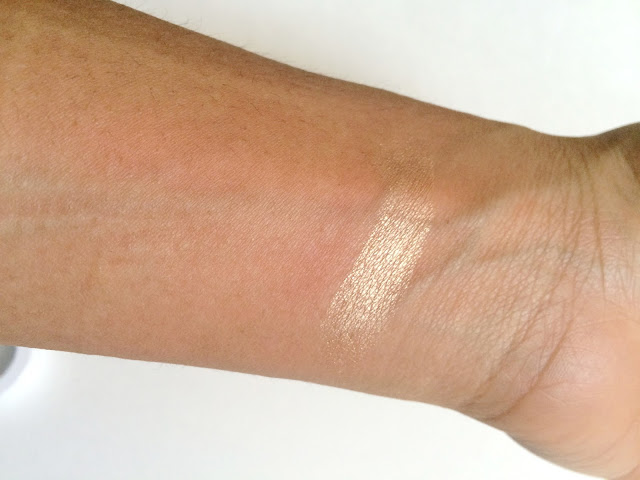 Swatch of Colourpop Cosmetics Highlighter