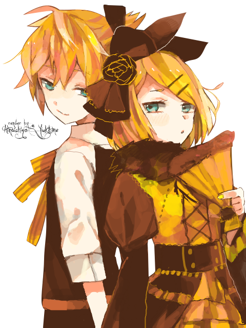 Render Rin y Len + Rin sola