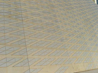 ceramic tile handmade exterior reflective energy efficient sustainable